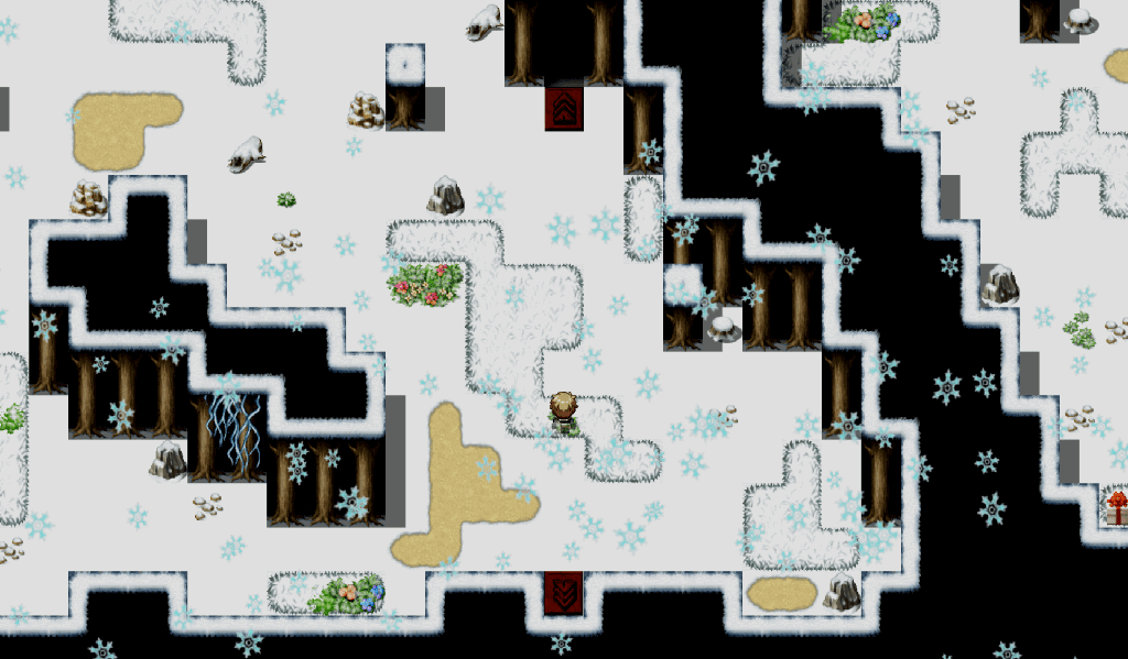 The Winter's Deal - White Masked Forest entrance