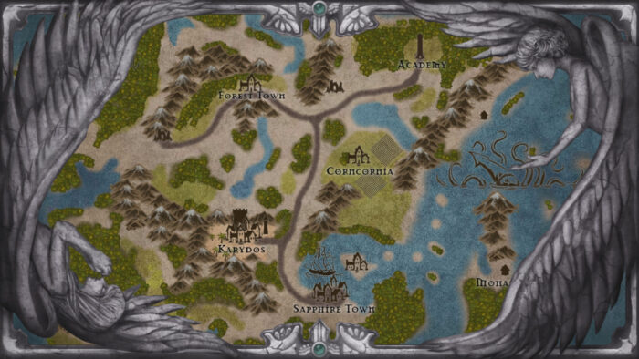 The Deal RPG Carca Map