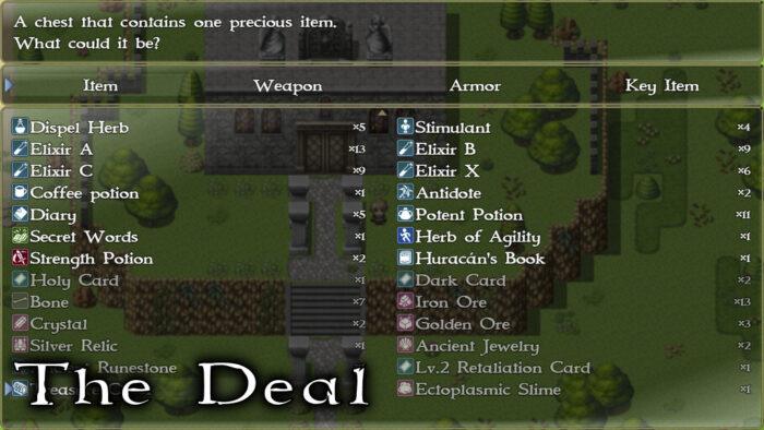 The Deal RPG Menu