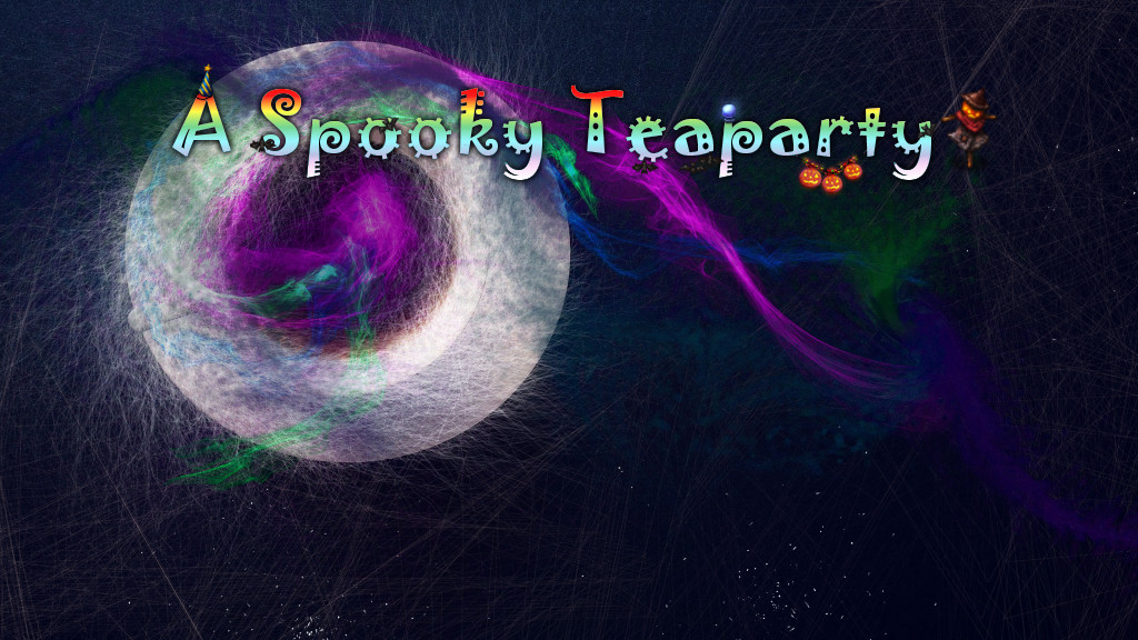 A Spooky Teaparty Title