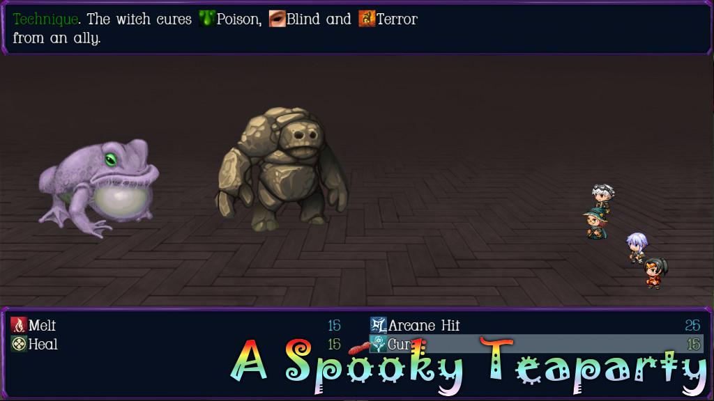 A Spooky Teaparty Battle 2