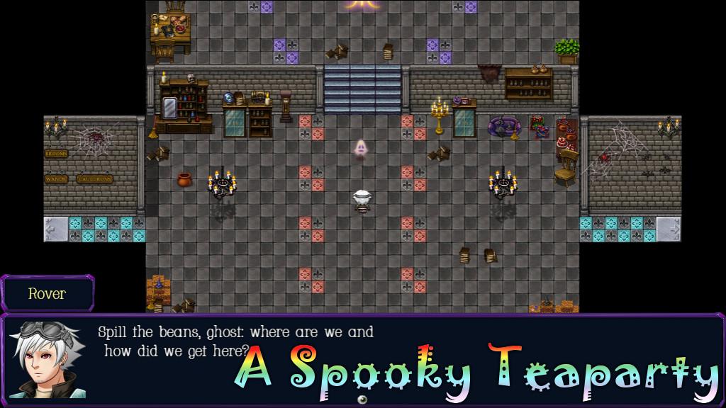 A Spooky Teaparty Castle