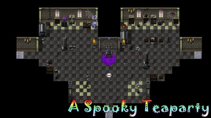 A Spooky Teaparty Spirit Tower