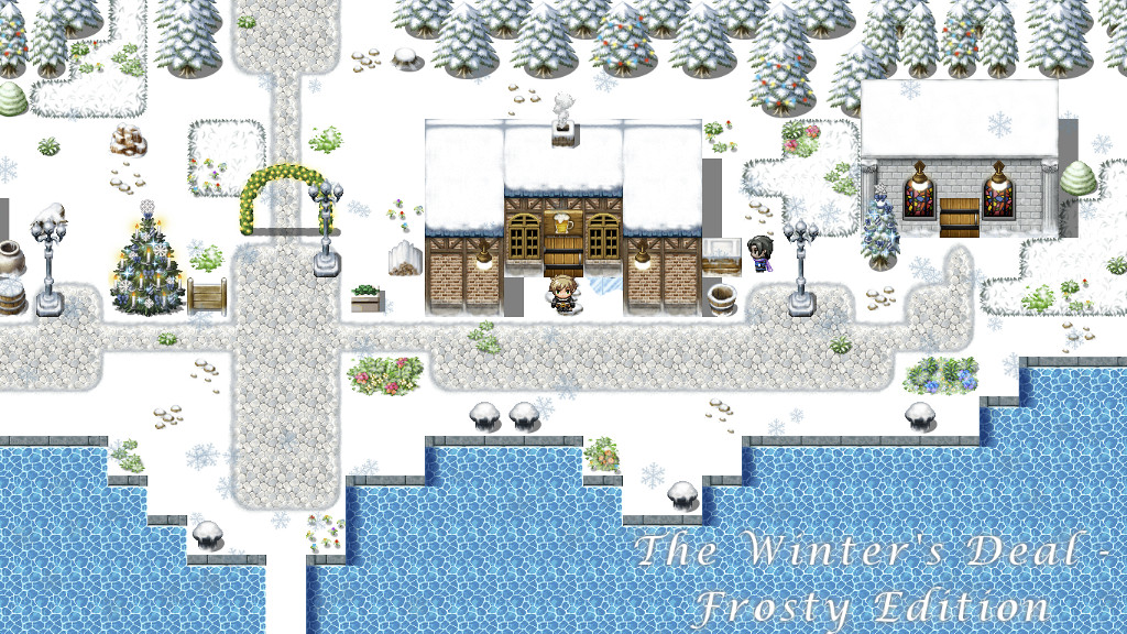 The Winter's Deal - Frosty Edition Dock