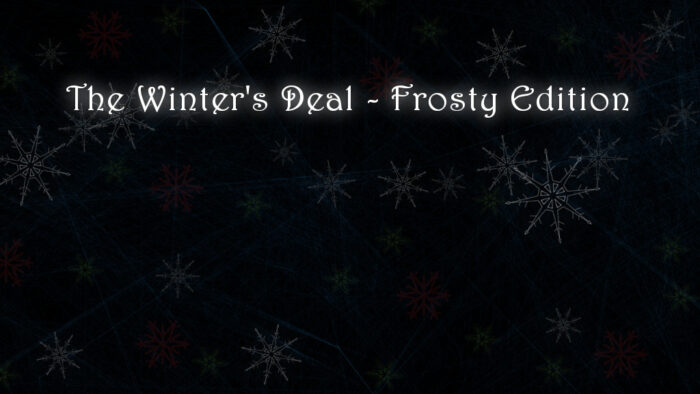 The Winter's Deal - Frosty Edition Title